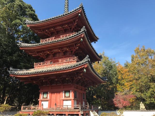 秋の吉備路で紅葉を愛でる 総社観光スポット その1