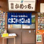 岡山おでかけ 久米郡美咲町B級グルメ絶品たまごかけごはん、初夏の棚田は絶景なり