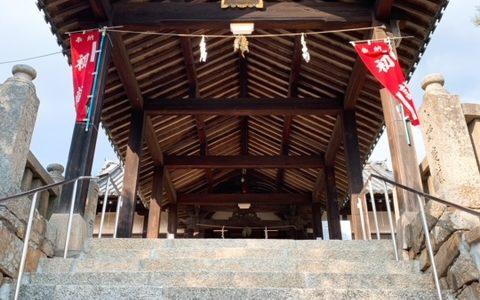 倉敷の足高神社にある十二支開運ジャンボ絵馬が迫力満点-倉敷市笹沖